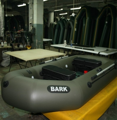 How we make inflatable boats BARK