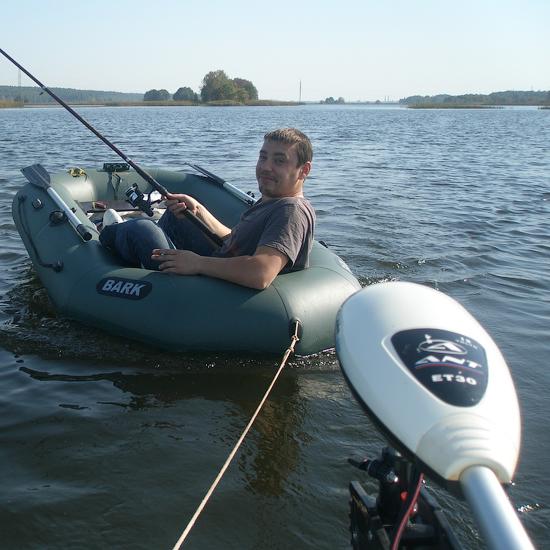 лодка с электромотором от генератора