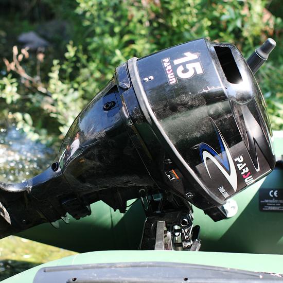 оптимальный мотор для надувной лодки