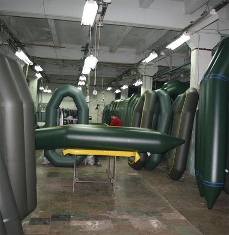 прозводство лодок пвх