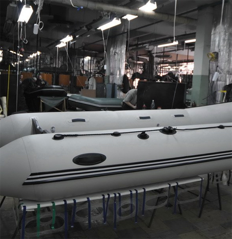 BARK inflatable boats: materials